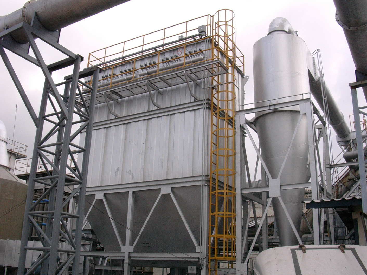 Cyclone Pre Filter Lead Furnace