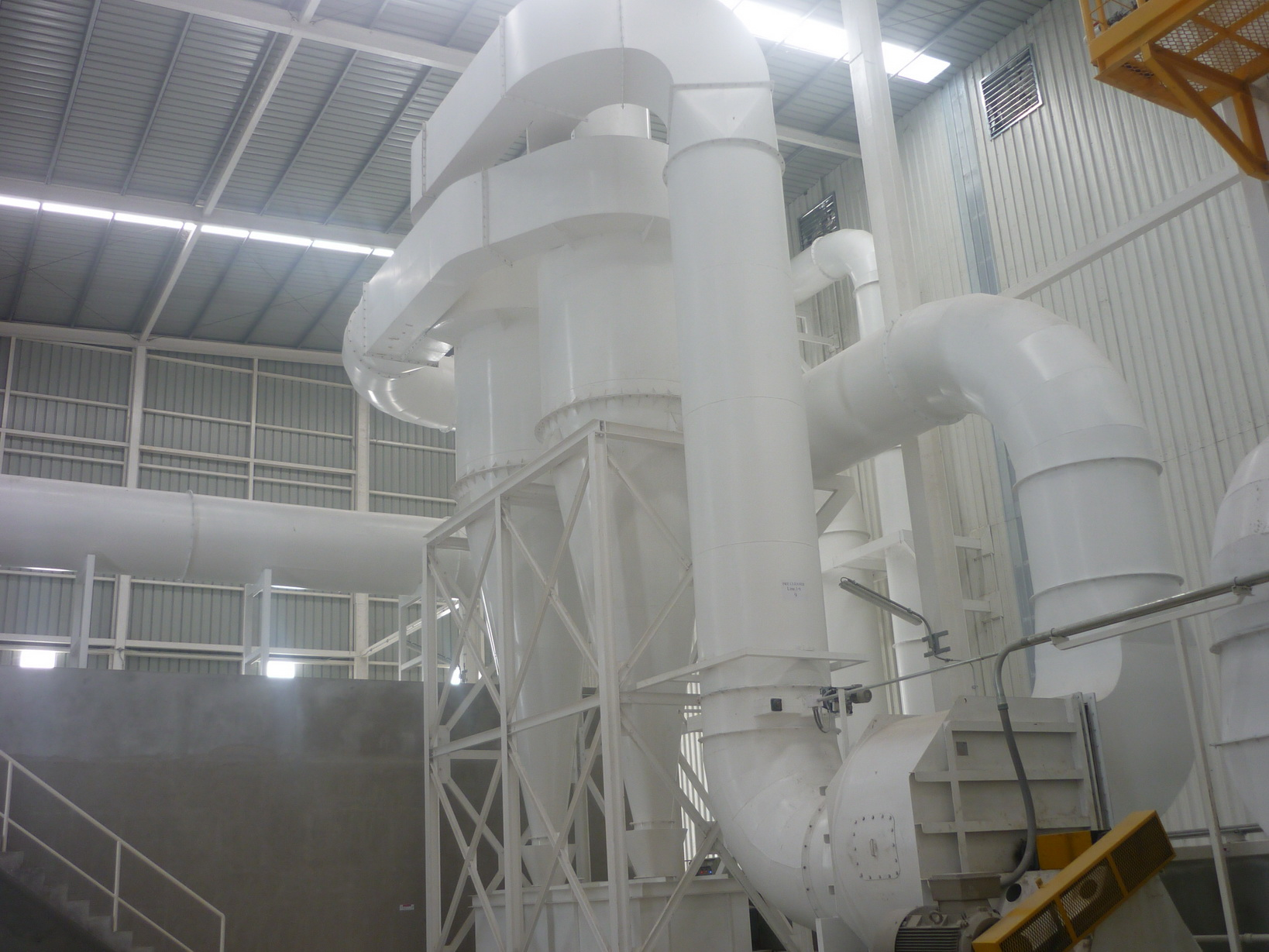 Double Cyclones of Nakhon Luang Rice Mill