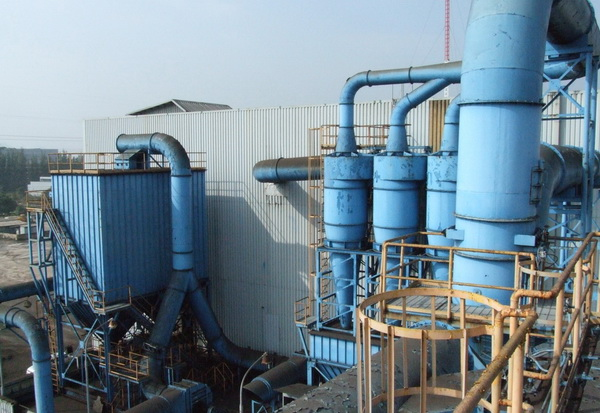 Cyclone for Lignite Dust